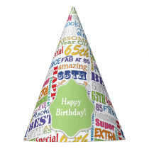 Unique And Special 65th Birthday Party Gifts Party Hat