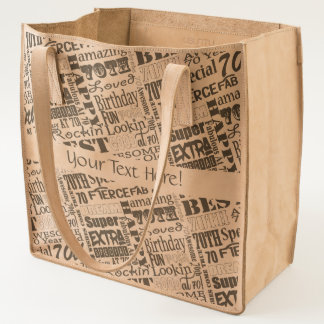 Unique And Special 70th Birthday Party Gifts Tote