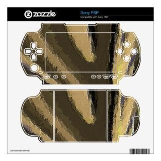 Unique and strange pattern sony PSP skin