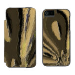 Unique and strange pattern incipio watson™ iPhone 5 wallet case