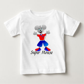 Unique and very cool super space mouse baby T-Shirt