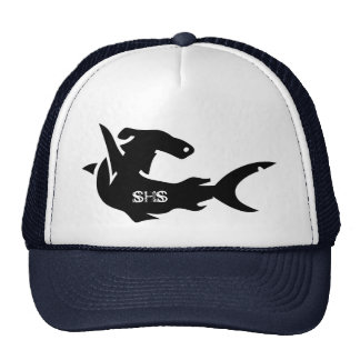 Unique animal art trucker hat