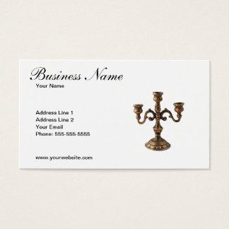 Unique Antique Dealer Business Card