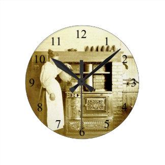 Unique Antique-Kitchen-Photo Clock