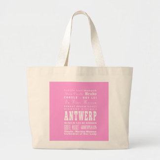 Unique Antwerp, Belgium Gift Idea Jumbo Tote Bag