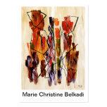 Unique Artistic Business Card for Fine Art Artists