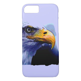 Unique Artwork Eagle Eye iPhone 7 Case