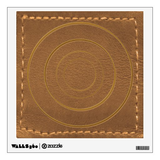 Unique Artwork : Hand Stich Leather Look Engraved Wall Graphics