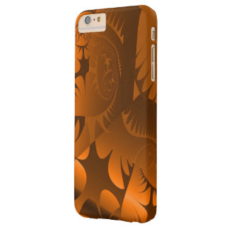 Unique Artwork with Custom Monogram and Text Barely There iPhone 6 Plus Case