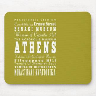 Unique Athens, Greece Gift Idea Mouse Pad