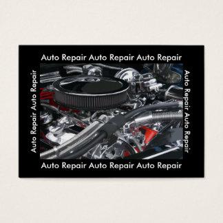 Unique Auto Repair Mechanic Business Card