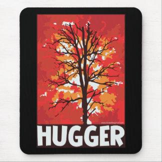 Unique Autumn Tree Hugger Mouse Pad