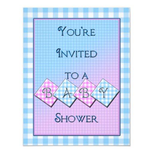 unique baby shower invitation zazzle