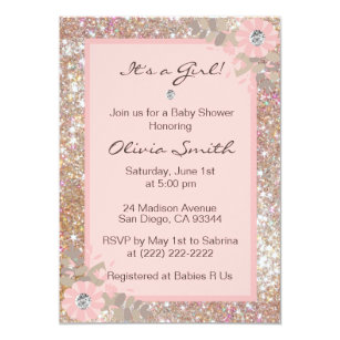 Unique Baby Shower Invitations Zazzle