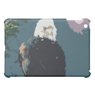 Unique Bald Eagle Decorative Art ipad sleeve iPad Mini Cases