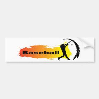 Unique Baseball Bumper Sticker