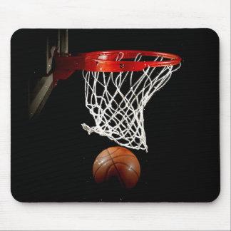 Unique Basketball Ball & Net Mousepad