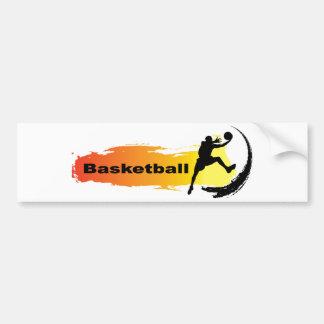 Unique Basketball Bumper Sticker