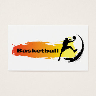 Unique Basketball Business Card