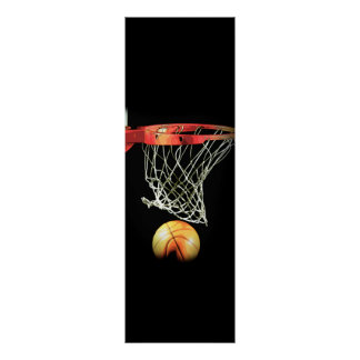 Unique Basketball Door Poster Print