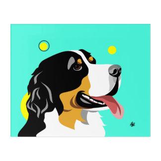 Unique Bernese Mountain Dog Art