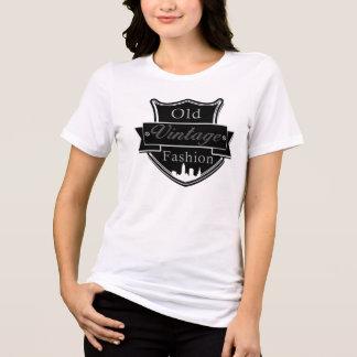 Unique black white and silver Vintage T-Shirt