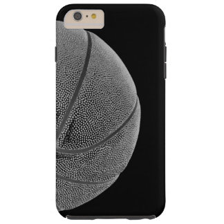Unique Black White Basketball Tough iPhone 6 Plus Case