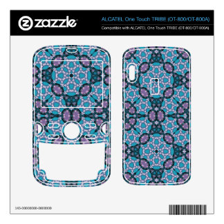 Unique blue Abstract Pattern ALCATEL Tribe Skin