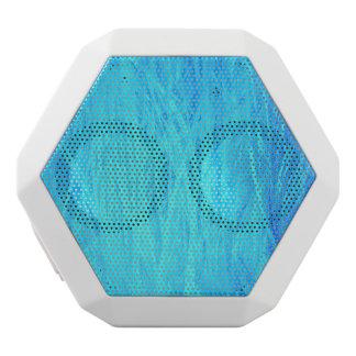Unique Blue White Bluetooth Speaker