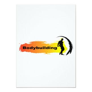 Unique Bodybuilding Card