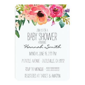 boho invitations & announcements | zazzle, Baby shower invitations