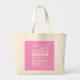 Unique Boston, Massachusetts Gift idea Jumbo Tote Bag