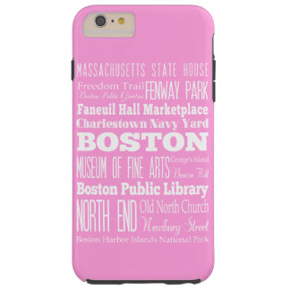 Unique Boston, Massachusetts Gift idea Tough iPhone 6 Plus Case