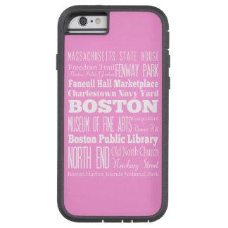 Unique Boston, Massachusetts Gift idea Tough Xtreme iPhone 6 Case