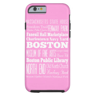 Unique Boston, Massachusetts Gift idea Tough iPhone 6 Case