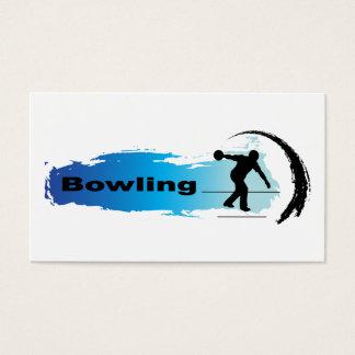 Unique Bowling Business Card