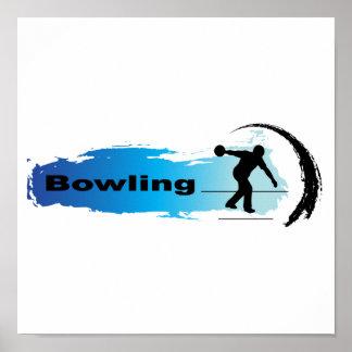 Unique Bowling Poster