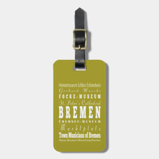Unique Bremen, Germany Gift Idea Tag For Bags