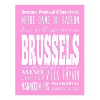 Unique Brussels, Belgium Gift Idea Postcard