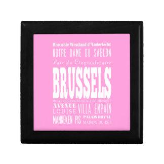 Unique Brussels, Belgium Gift Idea Trinket Boxes