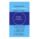 Unique Business Deep Blue Edgy Designer Business Card Templates