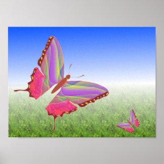 Unique Butterfly Canvas Print