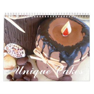 Unique Cakes Wall Calendar