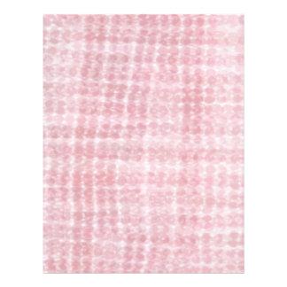 Unique Cancer Pink - Rose Bubble Pattern Letterhead