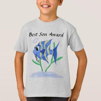 Unique Cartoon Angel fish T-Shirt