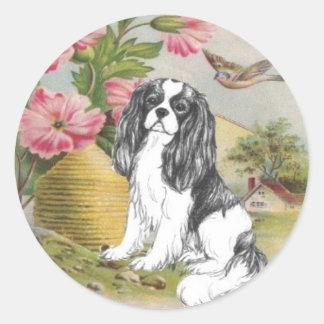 Unique Cavalier King Charles Spaniel Sticker