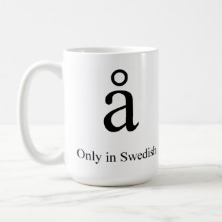 Unique Character Classic White Coffee Mug