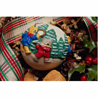 Unique Child's Christmas ball Cut Out