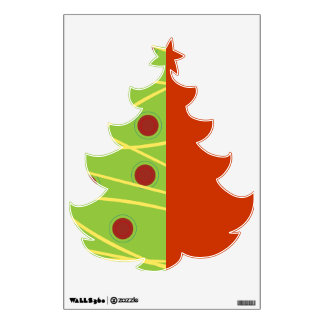 Unique Christmas Tree Wall Decal