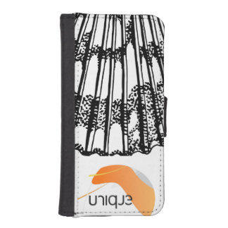 Unique Clam Iamge iPhone SE/5/5s Wallet